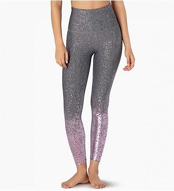 Beyond Yoga Double Back Alloy Ombre Midi Legging