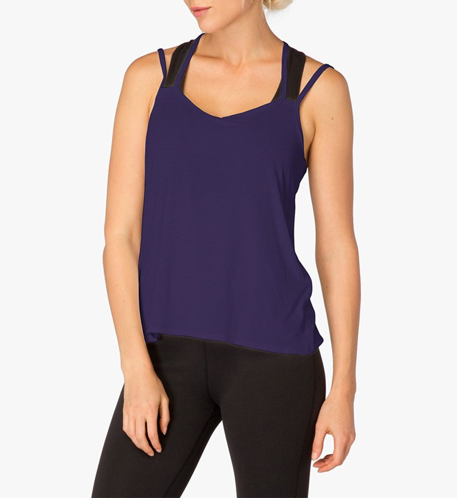 Beyond Yoga Earn Your Stripes Strappy V-Back Tank
