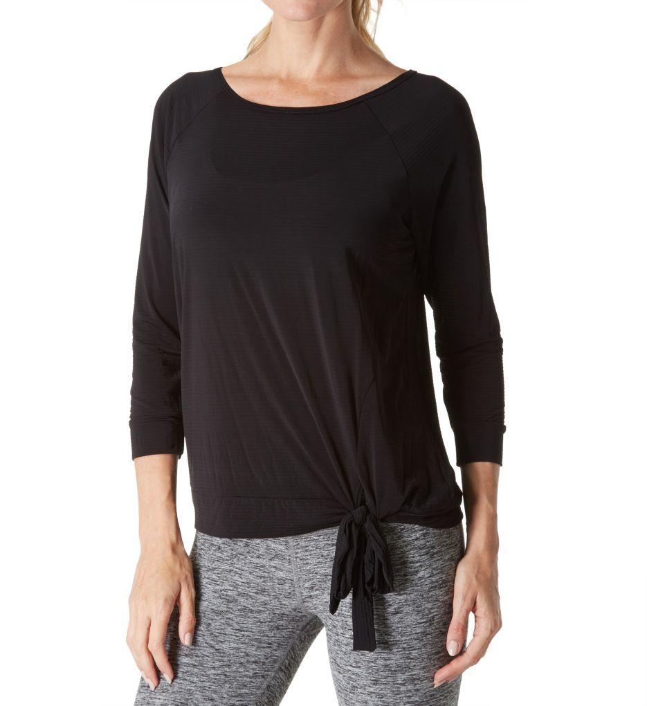 Beyond Yoga True Stripes 3/4 Sleeve Pullover