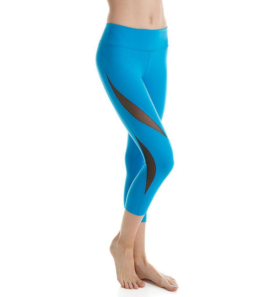 Beyond Yoga Supplex Double Panel Mesh Capri Legging