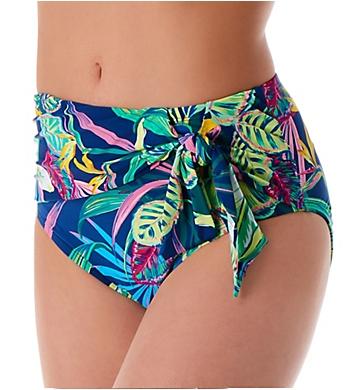 Bleu Rod Beattie It's A Jungle Out There High Waist Tie Swim Bottom