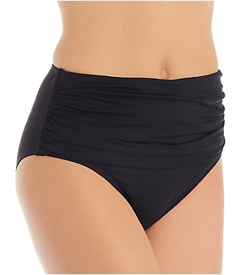 Bleu Rod Beattie Kore Shirred High Waist Brief Swim Bottom