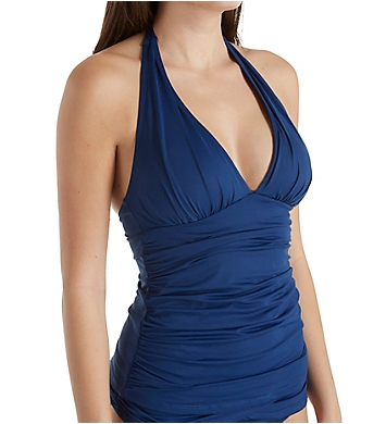 Bleu Rod Beattie Kore Halter Tankini Swim Top