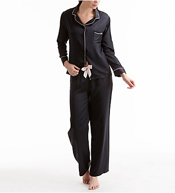Bluebella Claudia Button Down Shirt and Trouser Sleep Set