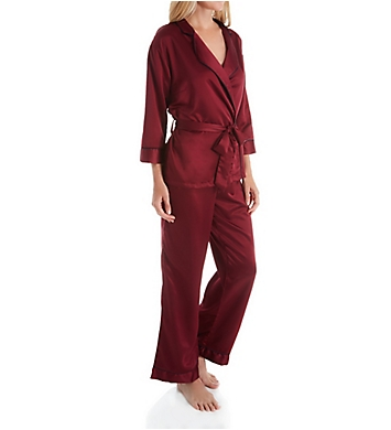 Bluebella Wren Kimono and Trouser Sleep Set