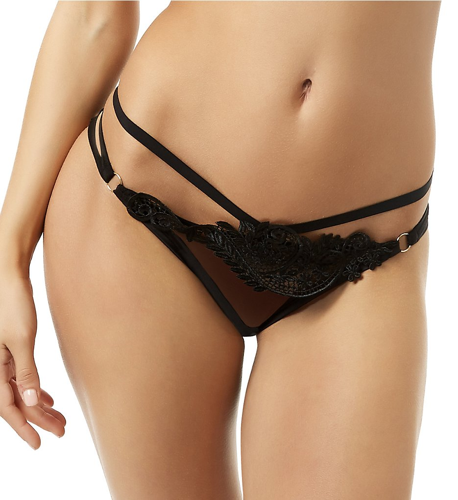 Bluebella >> Bluebella 40268 Julienne Brief Panty (Black S)