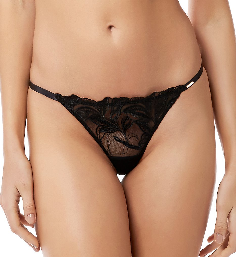 Bluebella >> Bluebella 40760 Asmin Thong (Black M)