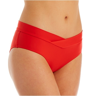 Body Glove Smoothies Nuevo Retro Hi Rise Brief Swim Bottom