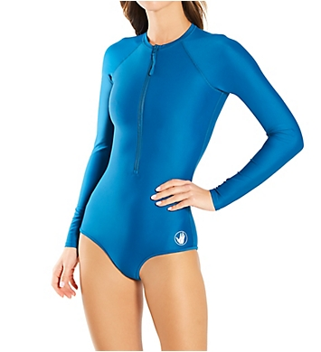 Body Glove Smoothies Long Sleeve Paddle One Piece Swimsuit