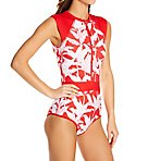 Tropik Vibe Stand Up Paddle One-Piece Swimsuit