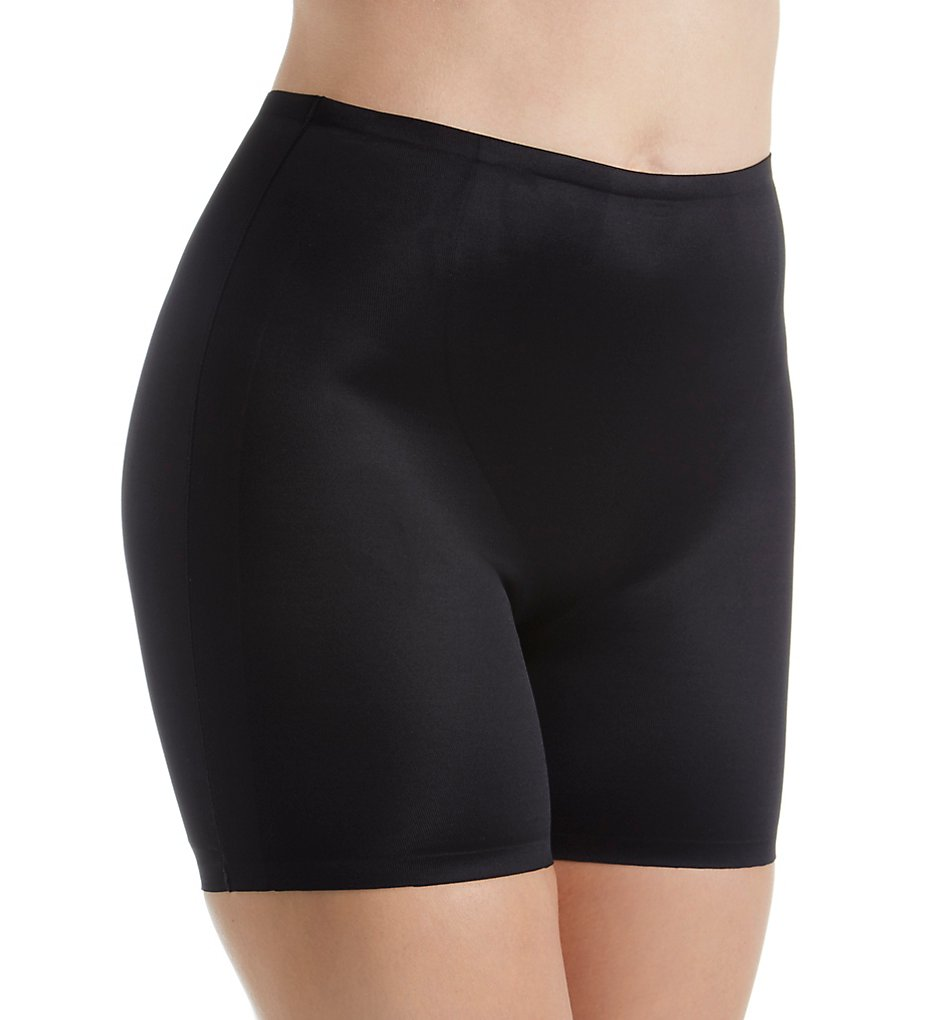 Body Hush - Body Hush BH1303 365 Everyday Control Boyshort Panty (Black S)