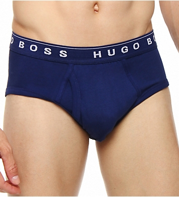 Boss Hugo Boss 100% Cotton Basic Briefs - 3 Pack
