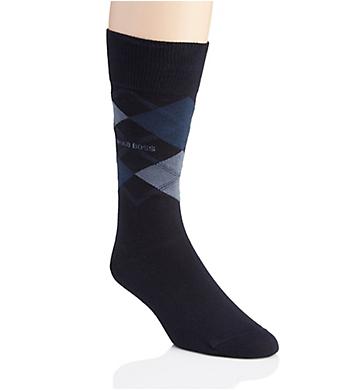 Boss Hugo Boss James Argyle Combed Cotton Sock