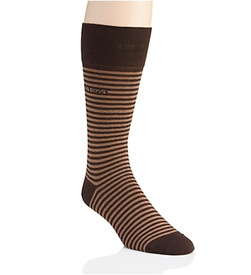 Boss Hugo Boss Brian Stripe Combed Cotton Sock