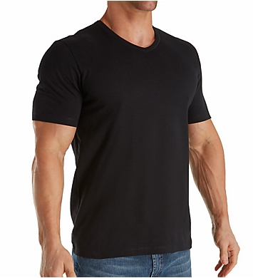 Boss Hugo Boss Essential 100% Cotton V-Neck T-Shirts - 3 Pack