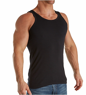 Boss Hugo Boss Essential Cotton Stretch Slim Tank Top - 2 Pack