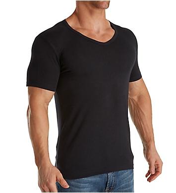Boss Hugo Boss Essential Cotton Stretch V-Neck T-Shirt - 2 Pack