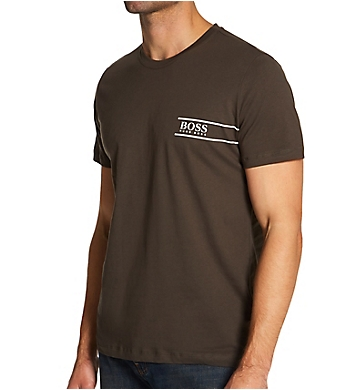 Boss Hugo Boss Relaxed Fit Cotton T-Shirt With Chest Logo