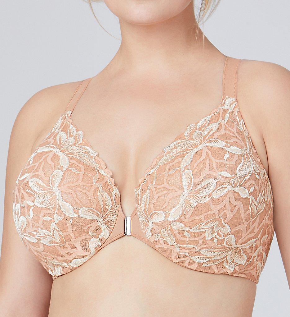 Bramour 7005 Noho Front Close Lace Underwire Bra (Nude)