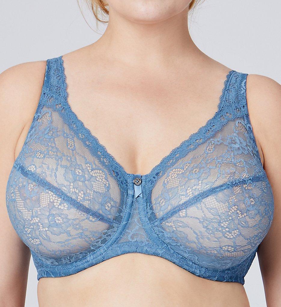 Bramour 7007 Nolita All Over Lace Underwire Bra (blue)