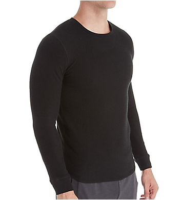 Bread and Boxers Men's Long Sleeve Thermal Crew Shirt