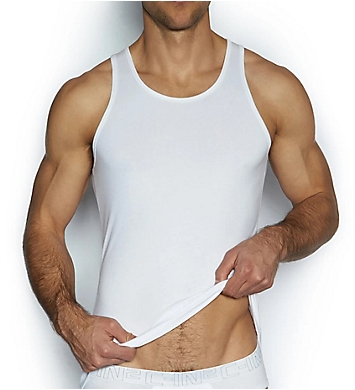 C-in2 Cotton Stretch Tanks - 2 Pack