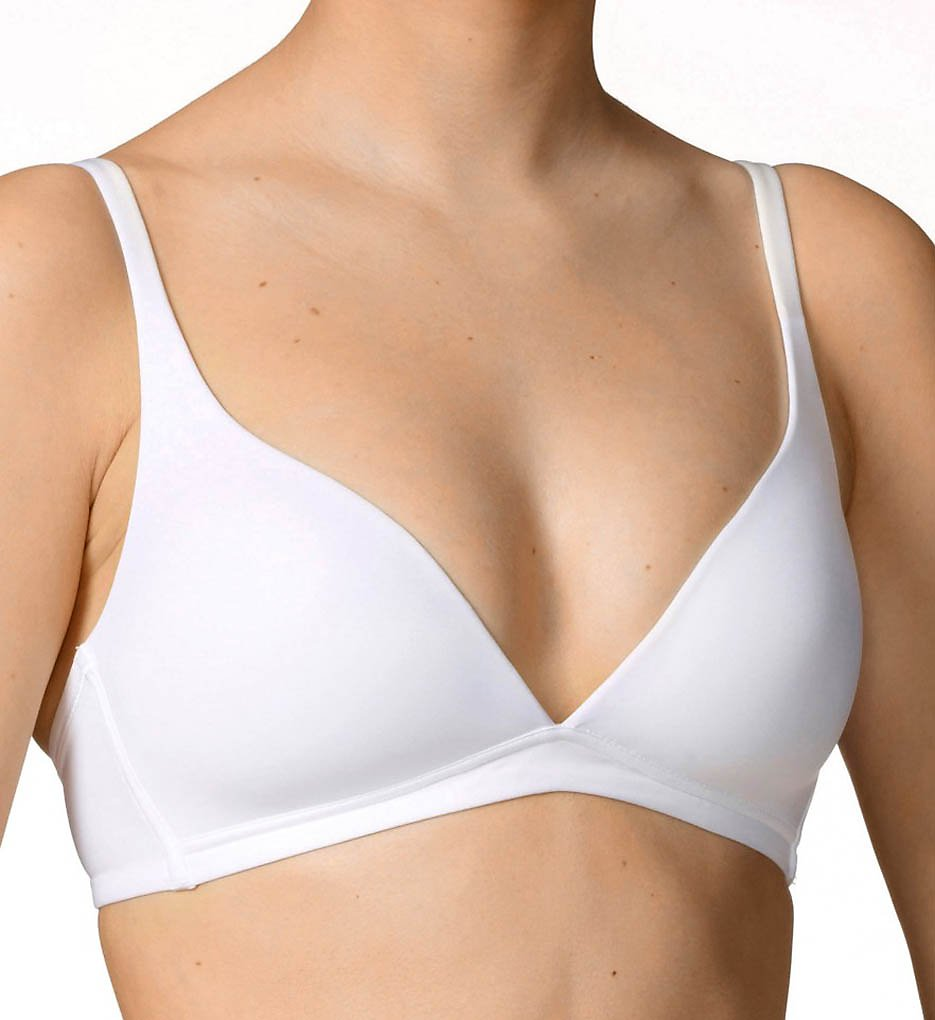 Calida >> Calida 04025 Sensitive Triangle No Wire Bra (White 36B)