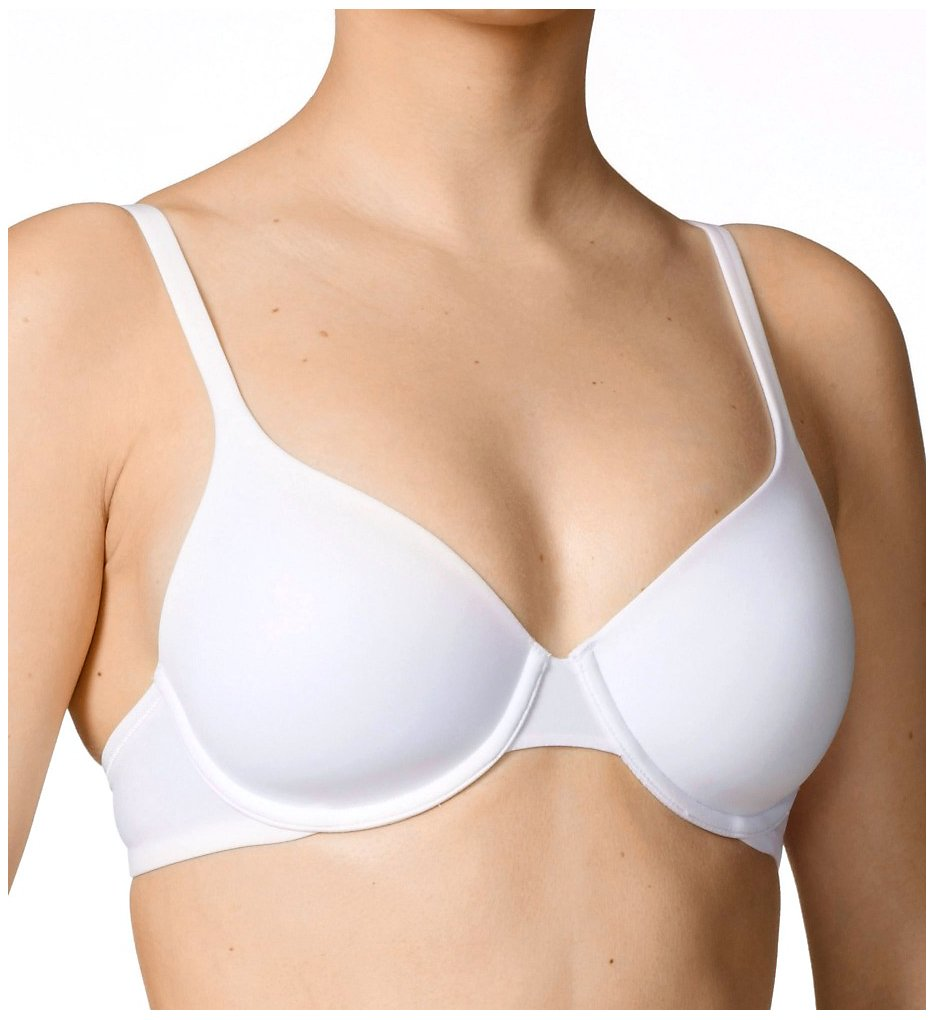 Calida >> Calida 04224 Sensitive Lightly Padded Underwire Bra (White 40C)