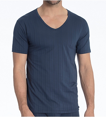 Calida Pure & Style Quick Dry Pima Cotton V-Neck T-Shirt
