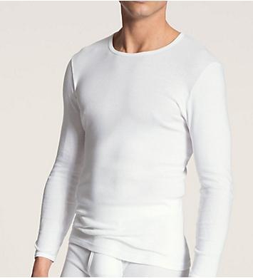 Calida Cotton Classic Long Sleeve T-Shirt