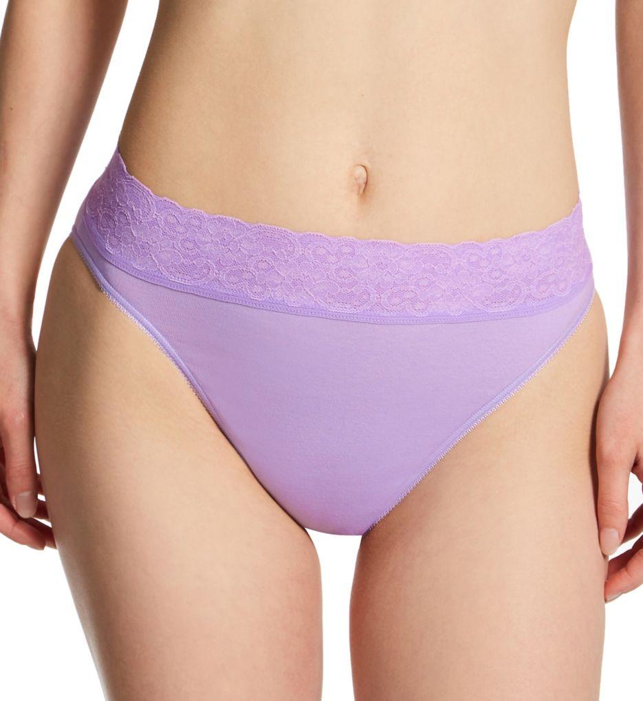 Calida Lycra Lace Hi Cut Brief Panties