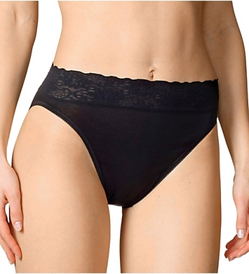 Calida Lycra Lace Hi Cut Brief Panties - 3 Pack