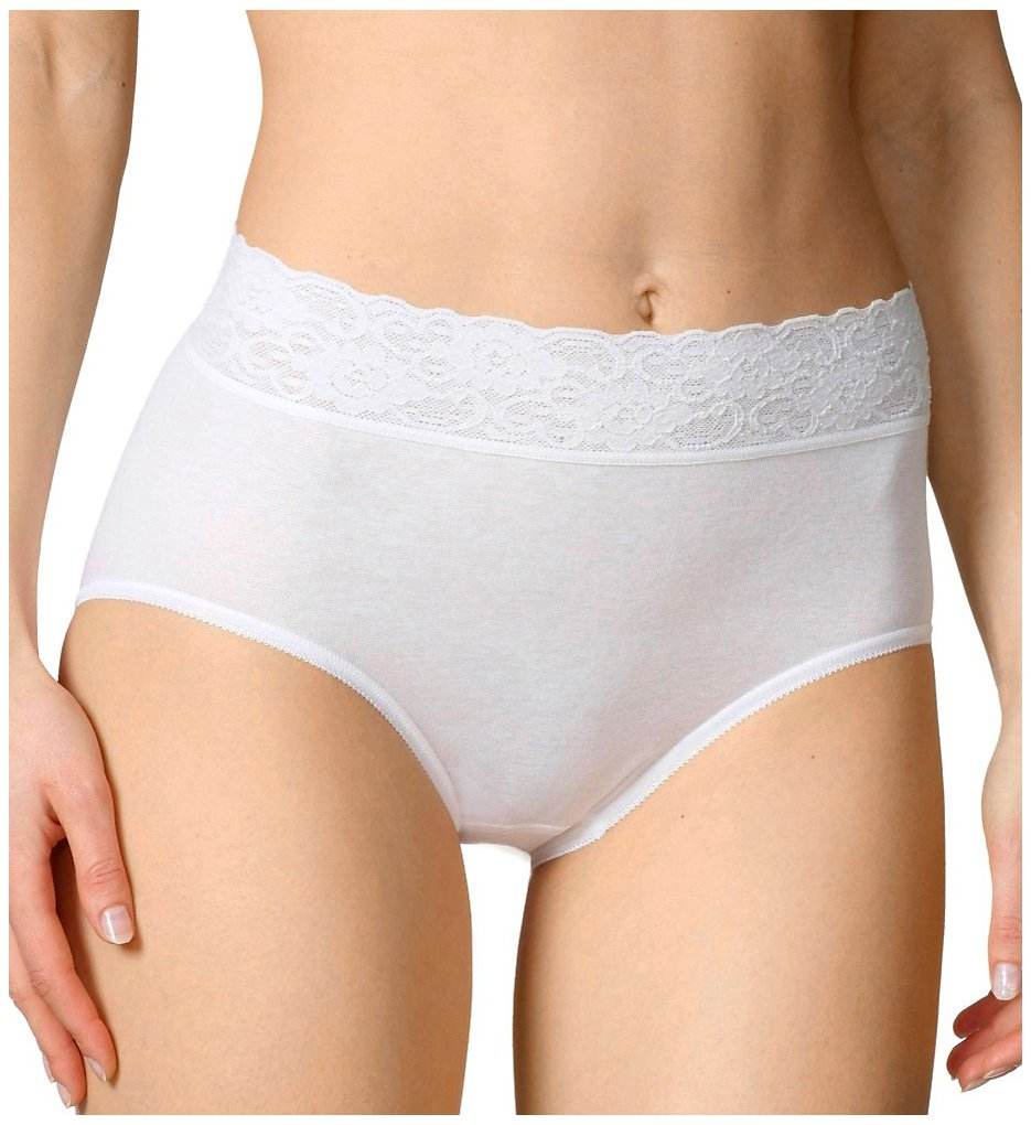 Calida - Calida 23907 Lycra Lace Brief Panties (White S)