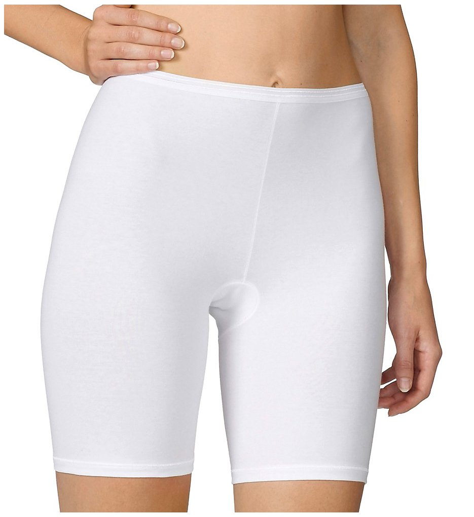 Calida >> Calida 26024 Comfort Stretch Cotton Long Leg Panties (White S)