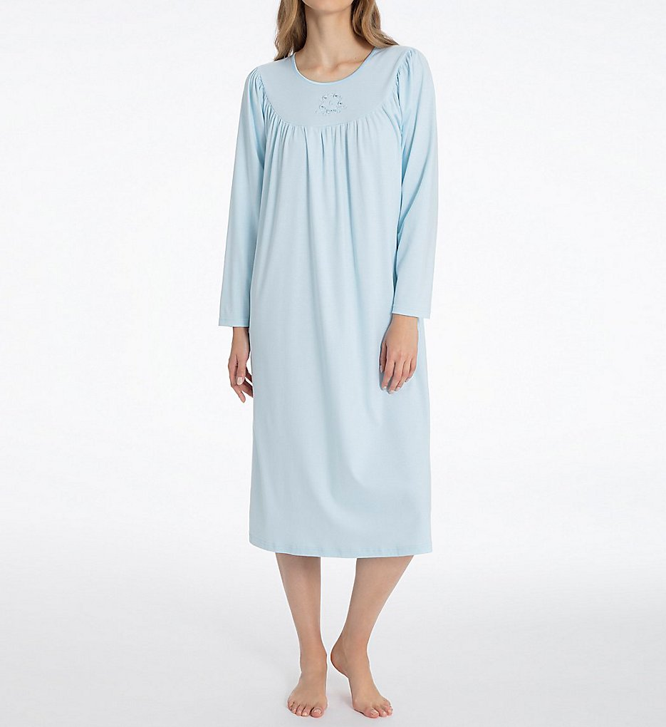 Calida Soft Cotton Long Sleeve Nightgown 33000