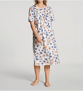 Calida Soft Cotton Short Sleeve Nightgown