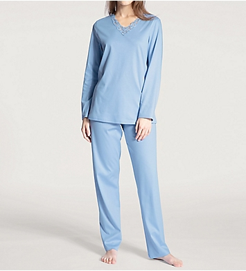 Calida Cosy Cotton Nights Pajama Set