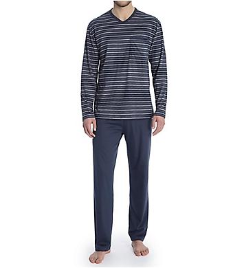 Calida Ferris Comfort Fit Cotton Pajama Set
