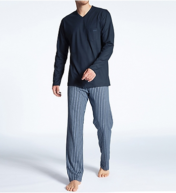Calida Relax Imprint Cotton Pajama Pant Set