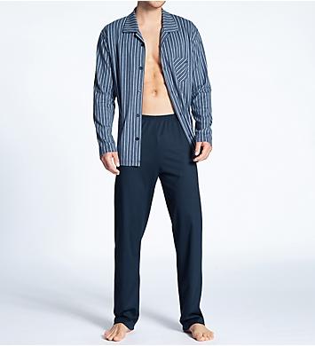 Calida Relax Imprint Button Down Pajama Set