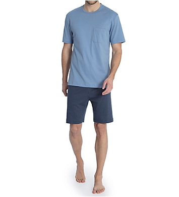 Calida Garry Comfort Fit Cotton Pajama Short Set