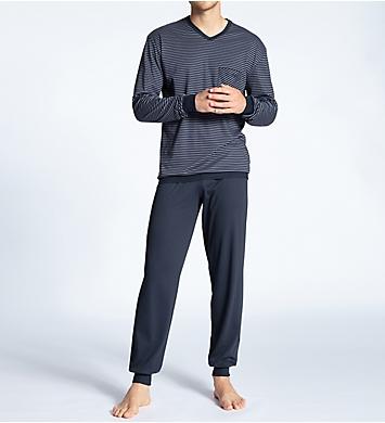 Calida Relax Streamline Pajama Jogger Set