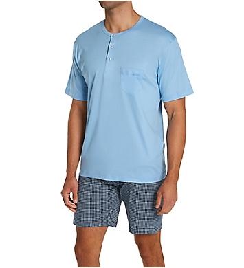 Calida Relax Choice Supima Cotton Pajama Short Set