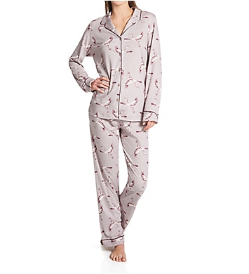 Calida Artisan Nights Long Sleeve Pajama Set