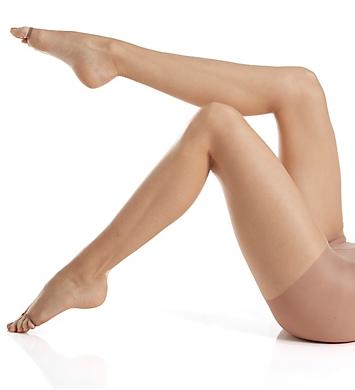 Calvin Klein Infinite Sheer Toeless Pantyhose with Control Top