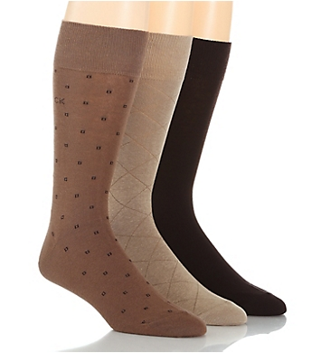 Calvin Klein Fashion Geometric Sock - 3 Pack