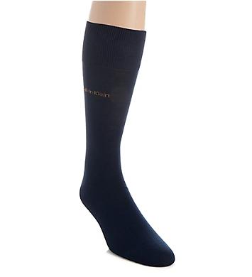 Calvin Klein Giza Cotton Flat Knit Crew Sock