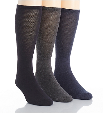 Calvin Klein Pima Cotton Blend Socks - 3 Pack