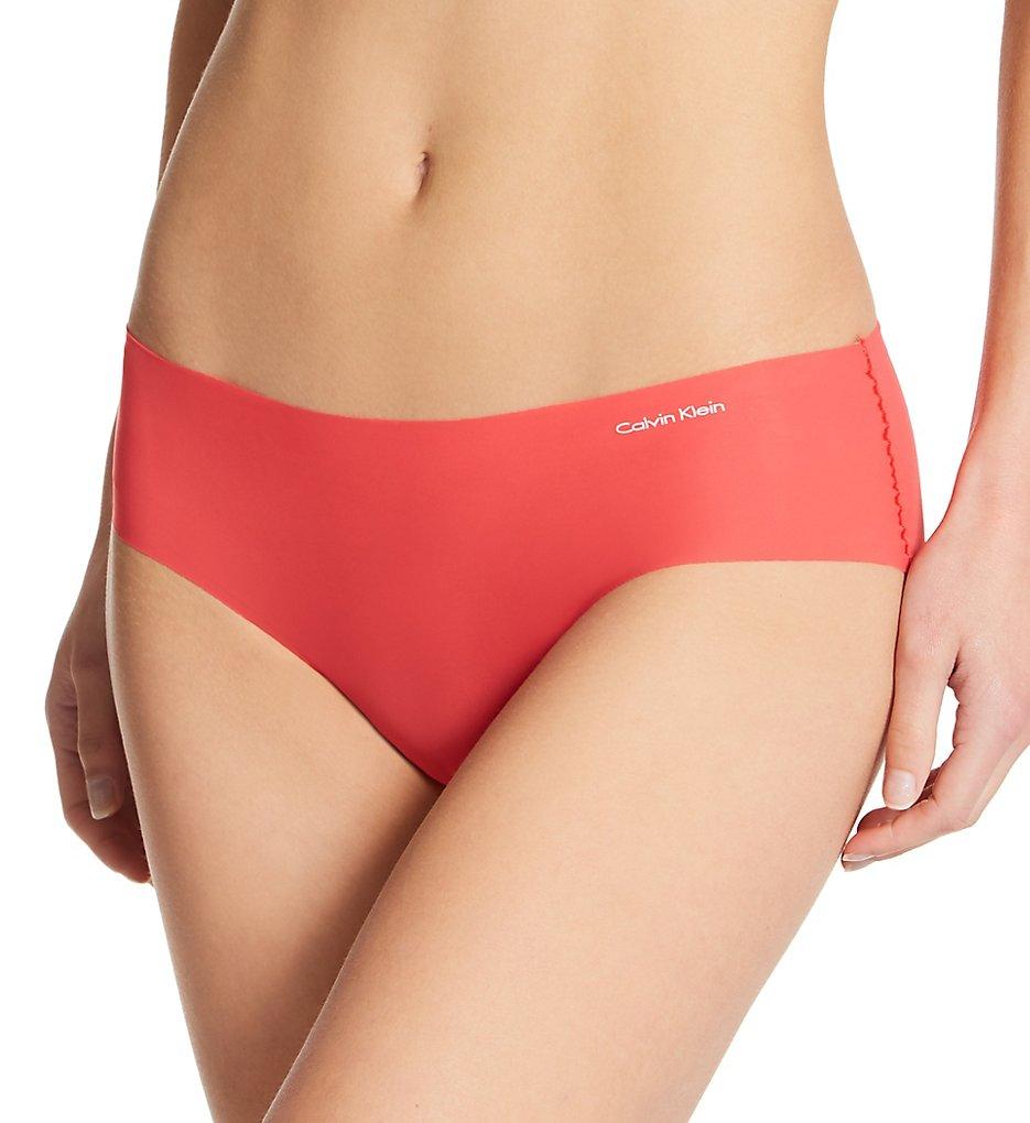 Calvin Klein - Calvin Klein D3429 Invisibles Hipster Panty (Strawberry Shake XS)
