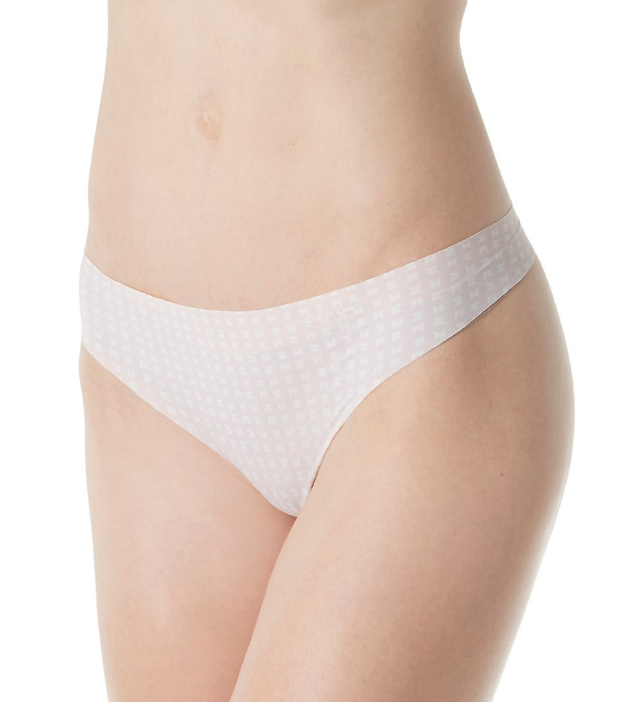 Calvin Klein D3507 Invisibles Printed Thong